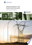 Demand Response In The Nordic Electricity Market Book PDF