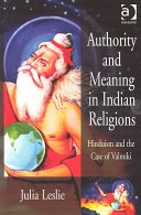 Authority and Meaning in Indian Religions