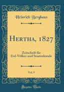 Hertha, 1827, Vol. 9