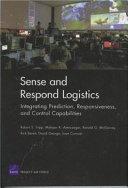 Sense and Respond Logistics