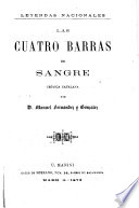 LAS CUATRO BARRAS DE SANGRE, CRONICA CATALANA.