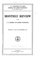 Monthly labor review  v  1  1915