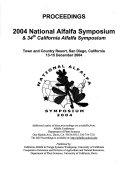 California Alfalfa Symposium