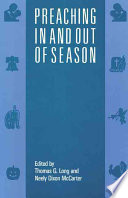 Preaching in and Out of Season