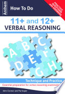 Anthem How To Do 11 And 12 Verbal Reasoning Technique And Practice
