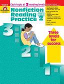 Nonfiction Reading Practice  Grade 2
