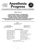 Anesthesia Progress