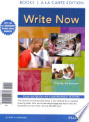 Write Now, Books a la Carte Plus New Mycomplab -- Access Card Package