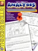 Critical Thinking Skills Analysis PDF