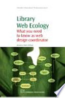 Library Web Ecology Book