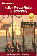 Frommer s Italian PhraseFinder   Dictionary