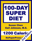 100-Day Super Diet - 1200 Calorie