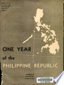 One Year of the Philippine Republic