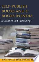 Self-Publish Books and E-Books in India