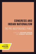 Congress and Indian Nationalism