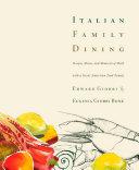 Pdf Italian Family Dining