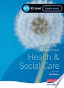 Gce Health And Social Care For Ocr As Double Award  Book PDF