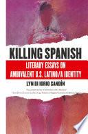 Killing Spanish Book PDF