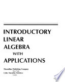Introductory linear algebra with applications