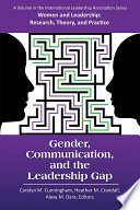 Gender  Communication  and the Leadership Gap Book