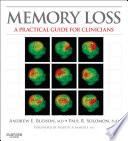 Memory Loss E Book Book