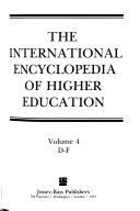 International encyclopedia of higher education Book PDF