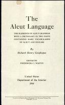 The Aleut Language