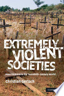 Extremely Violent Societies Book PDF