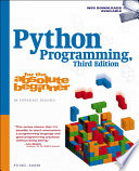 Python Programming for the Absolute Beginner 3e