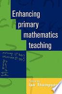 Enhancing Primary Mathematics Teaching Book PDF