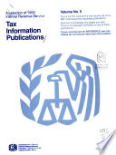 A Selection of     Internal Revenue Service Tax Information Publications