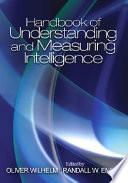 Handbook of Understanding and Measuring Intelligence Book