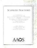 Scaphoid Fractures Book