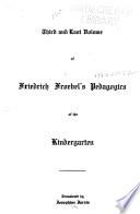 Friedrich Froebel's Pedagogics of the Kindergarten by Friedrich Fröbel PDF