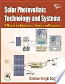 SOLAR PHOTOVOLTAIC TECHNOLOGY AND SYSTEMS Book