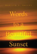 Words to a Beautiful Sunset