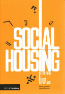 Social Housing Definitions Design Exemplars Paul Karakusevic Abigail Batchelor Google Books