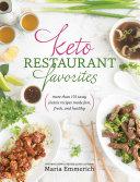 Keto Restaurant Favorites Pdf/ePub eBook