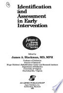 Identification and Assessment in Early Intervention
