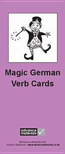 Books - Magic German Verb Cards Flashcards | ISBN 9780954769543