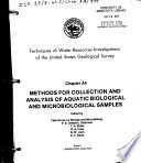 Methods for Collection and Analysis of Aquatic Biological and Microbiological Samples