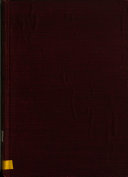 Finding List of the Circulating Department