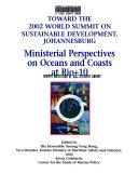 Toward the 2002 World Summit on Sustainable Development  Johannesburg