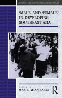 Male and Female in Developing South-East Asia Pdf/ePub eBook