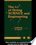 Art of Doing Science and Engineering