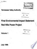 Red Hills Power Project Book