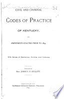 Civil and Criminal Codes of Practice of Kentucky