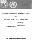 Epidemiological Surveillance of Rabies for the Americas