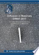 Diffusion in Materials DIMAT-2017