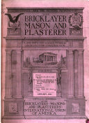 The Bricklayer, Mason and Plasterer